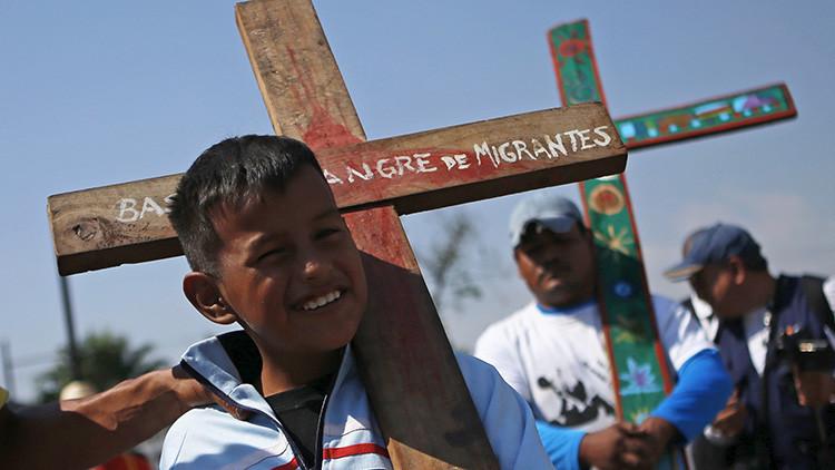 Un 'vía crucis' de refugiados atravesará México en Semana Santa