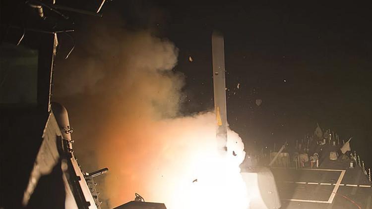 Así funcionan los misiles Tomahawk que utilizó EE.UU. para atacar una base aérea en Siria