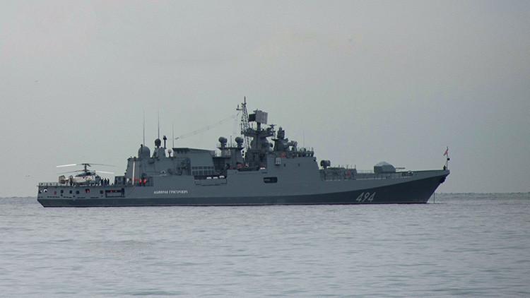 La fragata rusa Admiral Grigoróvich vuelve al Mediterráneo