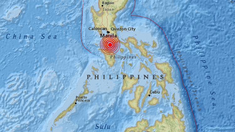 VIDEO: Se desata el pánico en un centro comercial de Filipinas por un sismo