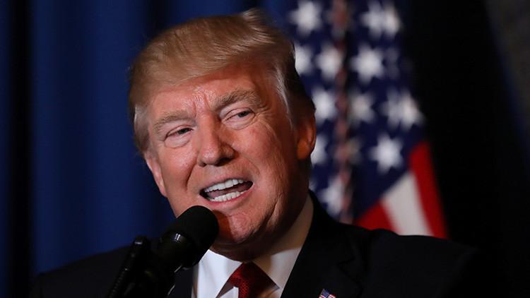 Trump rompe su silencio y se pronuncia sobre el ataque de EE.UU. contra Siria