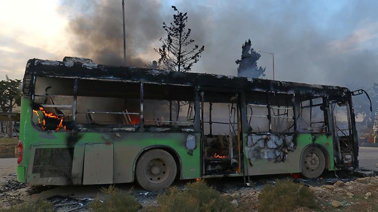 Explosión en un autobús en la provincia siria de Homs deja 25 heridos