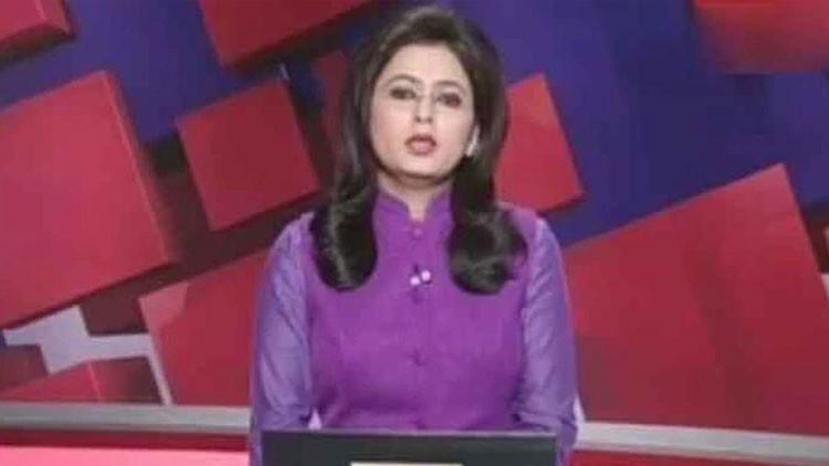 VIDEO: Una presentadora de noticias anuncia en un programa en vivo la muerte de su esposo