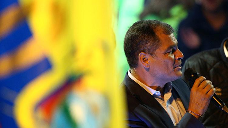 Rafael Correa acusa a 'hackers' de EE.UU. de atacar la página web del Consejo Nacional Electoral