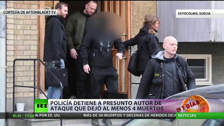 Policía detiene al presunto autor de ataque que dejó al menos 4 heridos