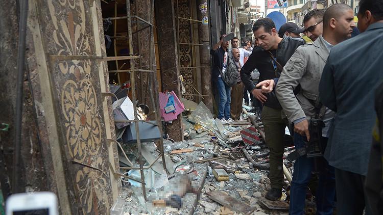VÍDEO: O momento exato do ataque suicida perto da catedral de Alexandria