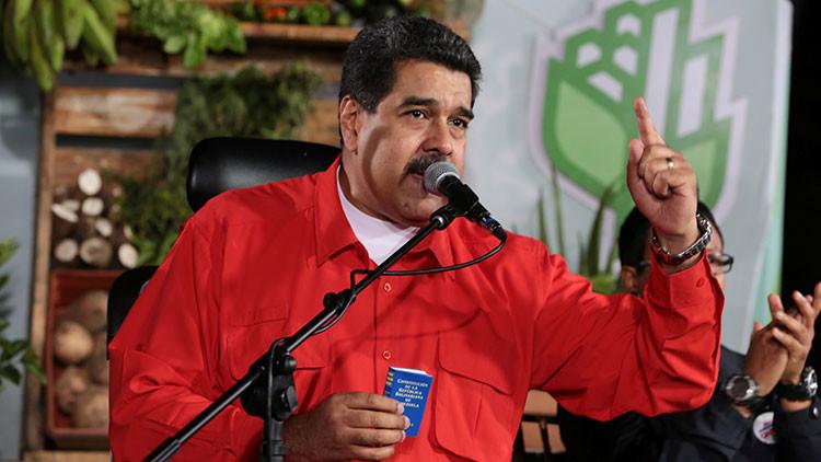 Maduro denuncia un plan intervencionista de EE.UU. contra Venezuela