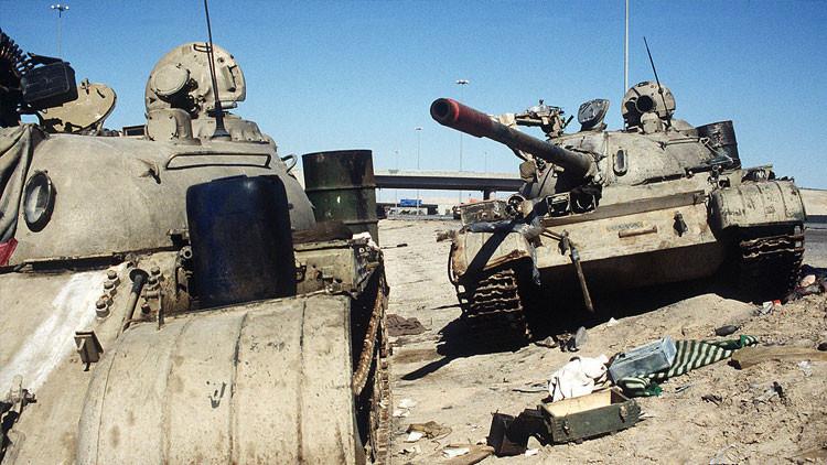 Encuentra más de 2,5 millones de dólares en oro en un tanque de guerra soviético