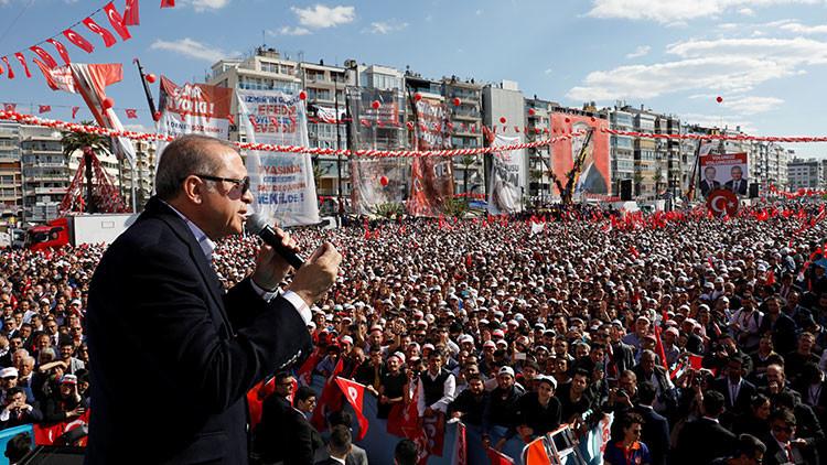 """Erdogan: """"Europa responderá por el trato injusto hacia Turquía"""""""