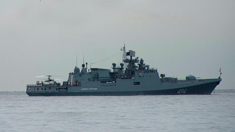 Rusia explica las razones del regreso de la fragata Admiral Grigoróvich al Mediterráneo