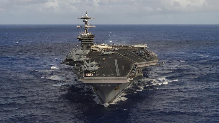 Así es el portaaviones de EE.UU. que encabeza la flota de ataque enviada a aguas norcoreanas
