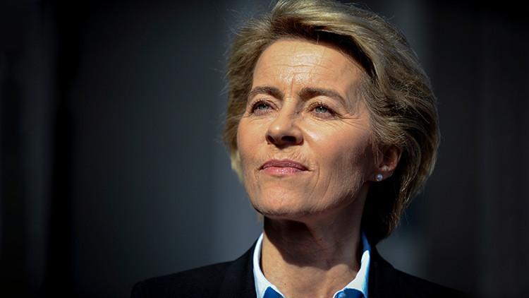 Ministra de Defensa alemana revela a quién quiso enviar un mensaje Trump con su ataque contra Siria