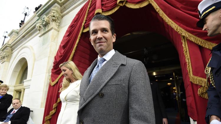 El hijo de Donald Trump hace un recordatorio a las celebridades que prometieron abandonar EE.UU.
