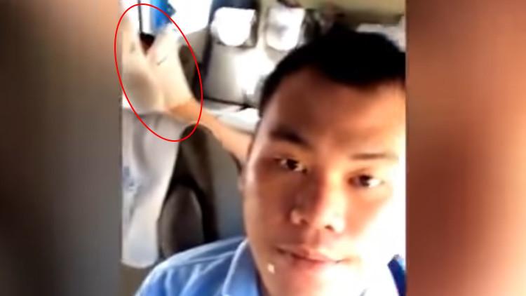 Una turista 'desarma' a un militar tailandés con el hedor de sus calcetines (VIDEO)