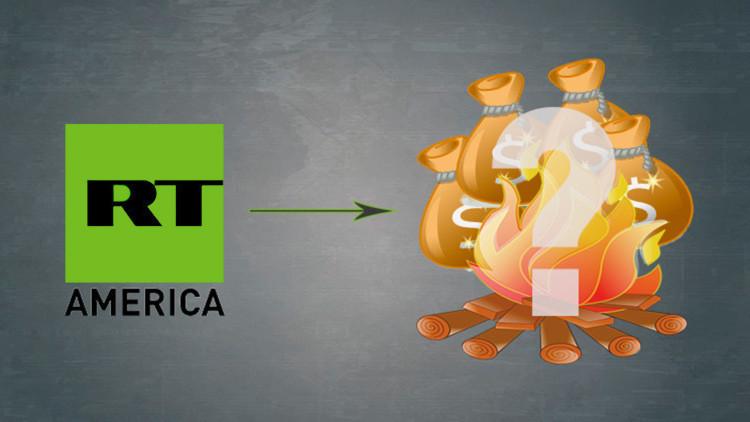 VIDEO: Cómo gastar cuatro presupuestos de RT America en 5 segundos