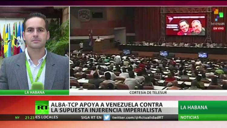 ALBA-TCP apoya a Venezuela contra la injerencia de EE.UU.