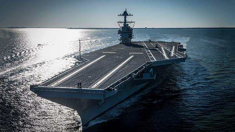 Cinco datos sobre el USS Gerald R. Ford, el portaviones más caro de la historia