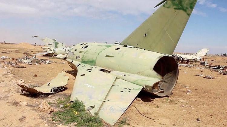 ¿Se la quedará EE.UU.? Publican un video de una base aérea arrebatada al Estado Islámico en Raqa
