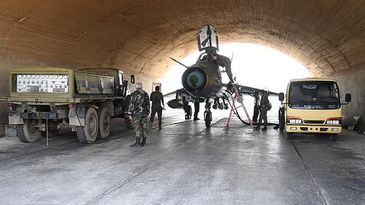 Moscú: Las autoridades sirias permitirán a expertos independientes entrar a la base aérea Shayran