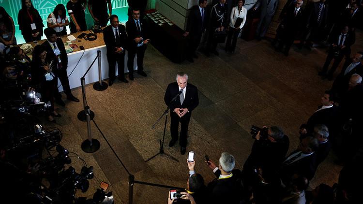 Nueve ministros de Temer serán investigados por presunta corrupción