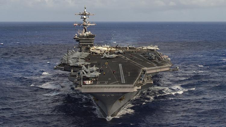 """Trump: """"EE.UU. está enviando a la península coreana una armada muy potente"""""""