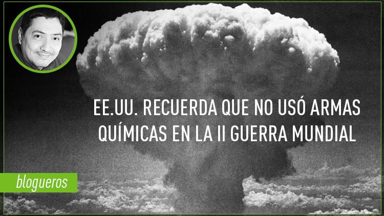 """Sean Spicer dice que """"EE.UU. no usó armas químicas en la II Guerra Mundial"""", solo armas nucleares"""