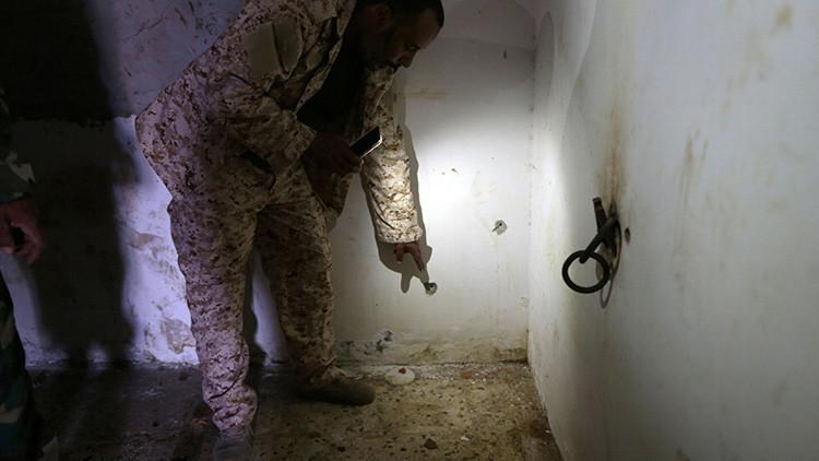 Así son las cárceles secretas donde el Estado Islámico tortura a sus prisioneros (FOTOS)