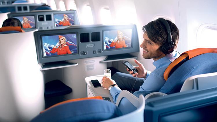 La rusa Aeroflot, elegida mejor compañía aérea de Europa