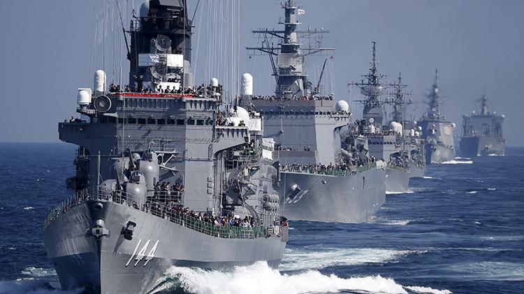 Japón planea realizar maniobras conjuntas con la Armada de EE.UU.