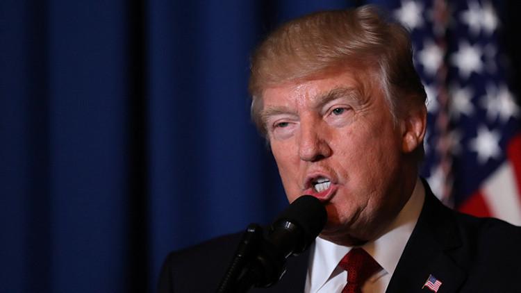 """Trump está """"100% seguro"""" de que habrá un muro en la frontera con México"""