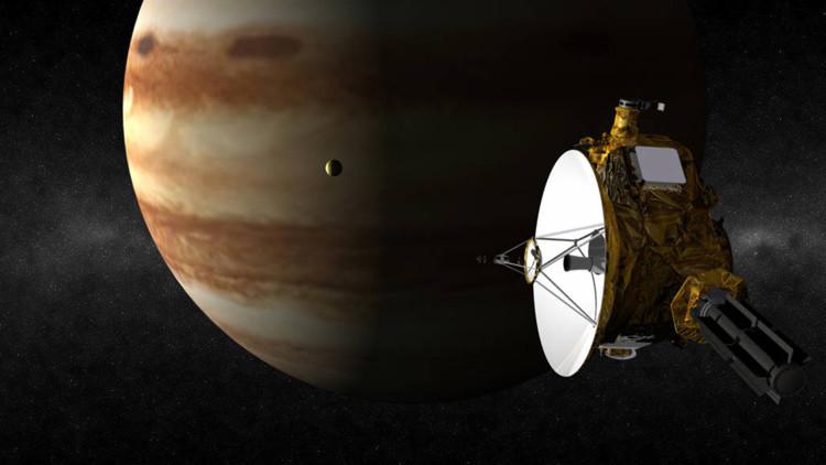 Hallan una enorme mancha fría y movediza en Júpiter