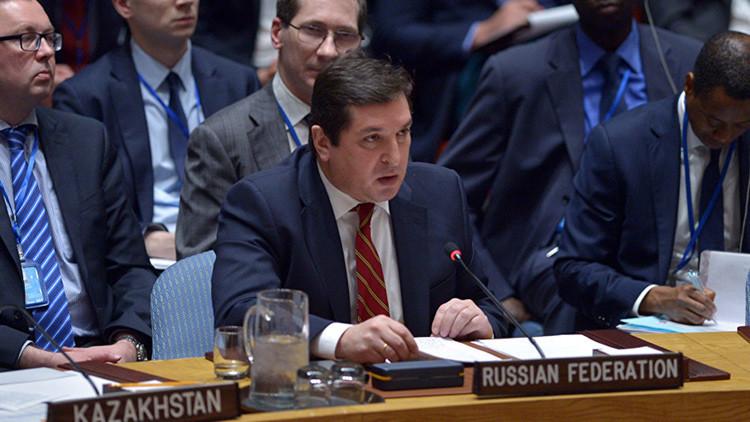"""Rusia al representante británico ante la ONU: """"¡No se atreva a volver a insultar a Rusia!"""""""