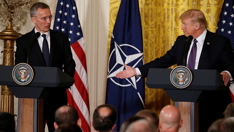 """Trump: """"La OTAN ya no es obsoleta"""""""