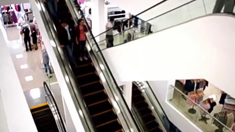 Un pequeño estado mexicano inaugura su primera escalera eléctrica y la Red se mofa