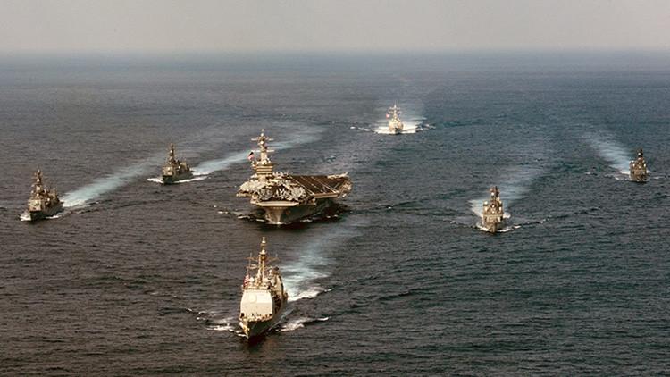 ¿Con qué armamento cuenta el grupo de ataque del portaviones USS Carl Vinson?