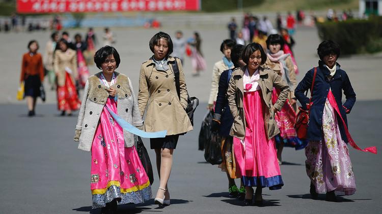 Corea del Norte se viste de fiesta para el Día del Sol