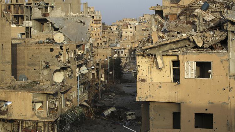Damasco: Centenares de muertos tras un ataque de la coalición contra un arsenal químico del EI