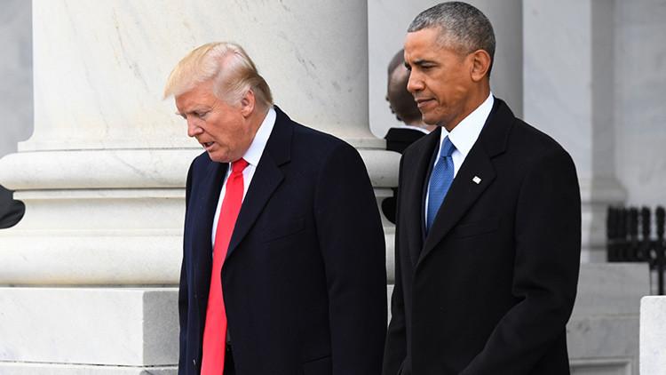 La advertencia que Trump lanzó a Obama y que él mismo ignoró