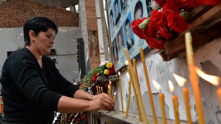 """Moscú tilda de """"teóricas"""" las conclusiones de Estrasburgo sobre el atentado de Beslán"""