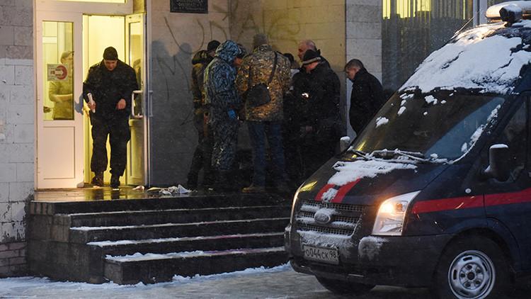 Un adolescente pierde una mano tras una explosión en San Petersburgo