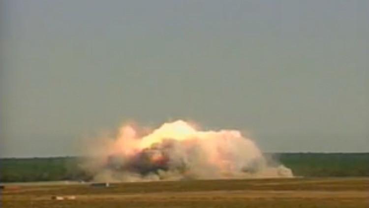 VIDEO: EE.UU. muestra cómo se lanza la 'madre de todas las bombas'