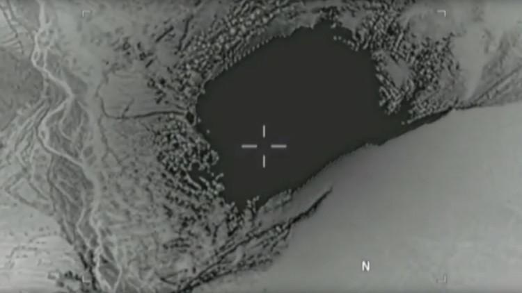 El Pentágono publica un video de la 'Madre de todas las bombas' lanzada sobre Afganistán
