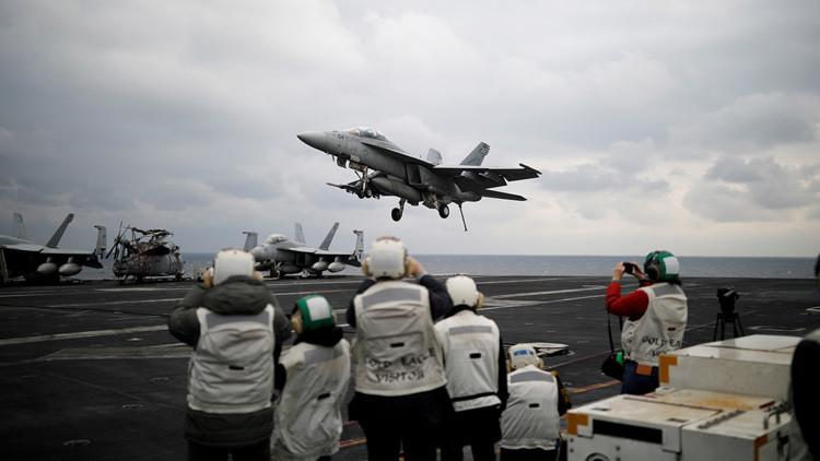 Los buques de guerra de EE.UU. llegan al Estrecho de Corea