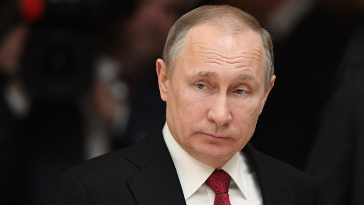 Putin publica sus ingresos y propiedades del año 2016