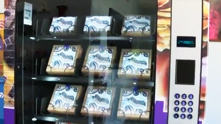 Las Vegas instala máquinas dispensadoras de jeringas gratuitas para drogadictos