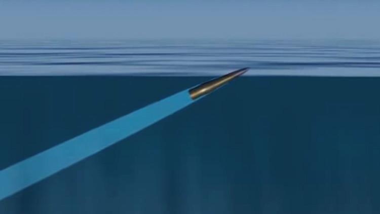 Terror subacuático: desarrollan una nueva bala que es letal dentro y fuera del agua (VIDEO)