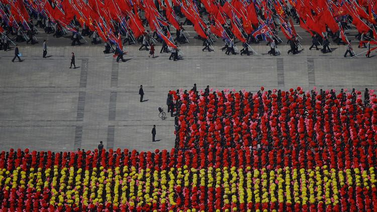 VIDEO: Corea del Norte celebra el día más importante del año en medio de tensiones