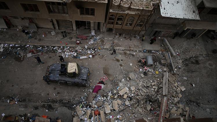 Varios militares resultan heridos en un ataque químico del Estado Islámico en Mosul