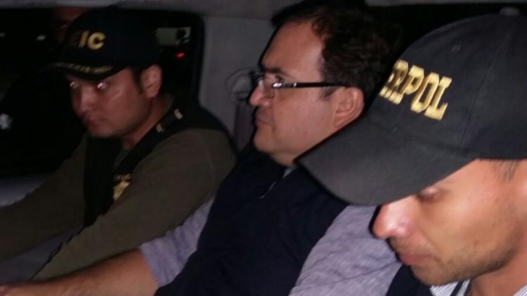 México: Exgobernador del estado de Veracruz es detenido en Guatemala