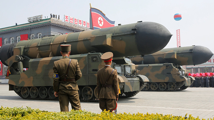 Resultado de imagen de corea del norte misil